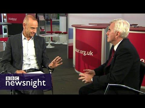 The John McDonnell Interview - Newsnight