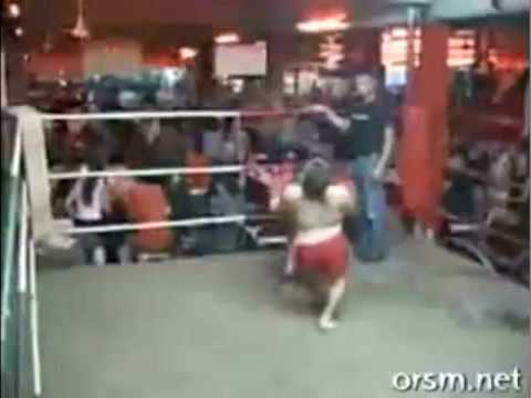 Midget thai kickboxing