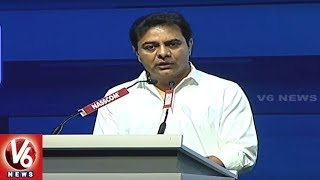 Minister KTR Addressing At World IT Congress In HICC | Hyderabad