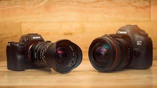 Laowa 12mm f2.8 w/ Magic Shift Adapter vs Canon 17mm Tilt Shift
