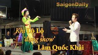 Lô tô show: Lần đầu tiên Lộ Lộ và Lâm Quốc Khải hát chung 1 sân khấu