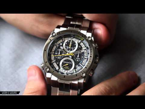 BULOVA PRECISIONIST CHAMPLAIN CHRONOGRAPH REVIEW