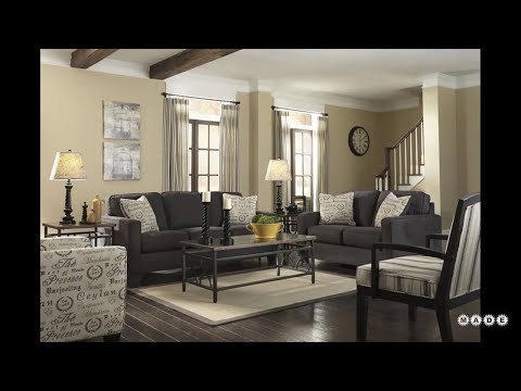Gray and Beige Living Room Ideas