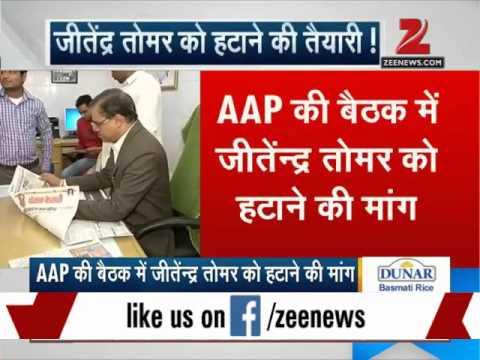 Fake degree row: Arvind Kejriwal likely to sack Jitendra Singh Tomar