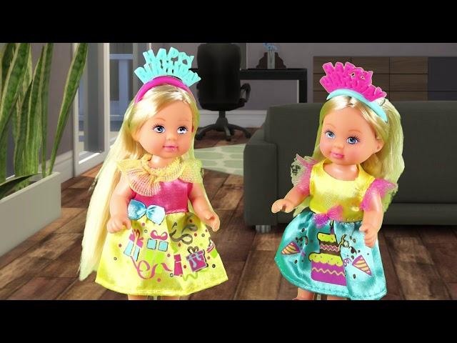 Rodzinka Barbie - Urodziny bliźniaczek. Bajka dla dzieci po polsku. The sims 4. Odc. 62