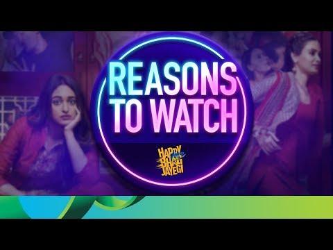 Reasons to Watch - Happy Phirr Bhag Jayegi   Sonakshi Sinha, Jimmy Shergill, Diana Penty & Ali Fazal