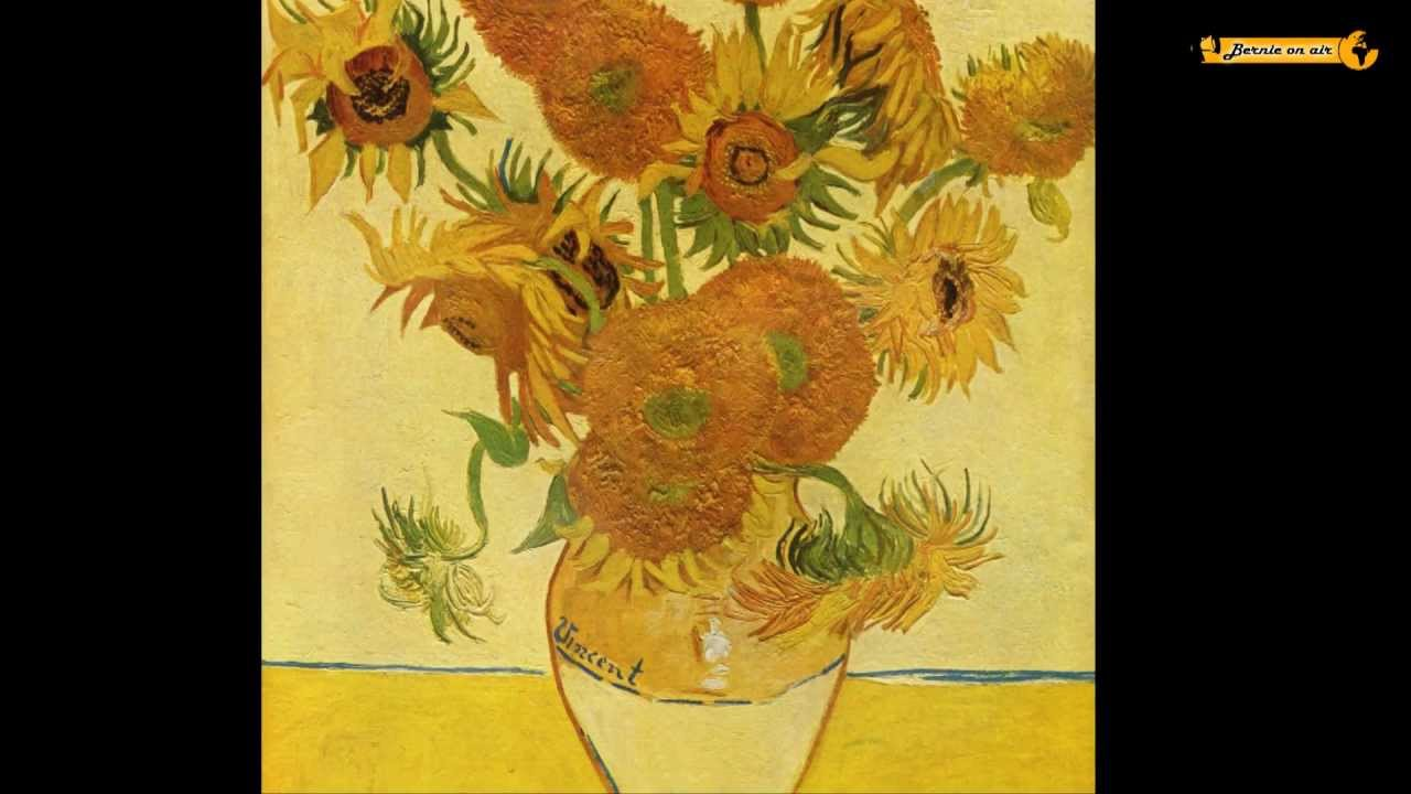 Vincent Van Gogh 15 Sonnenblumen Painting Sunflowers Youtube