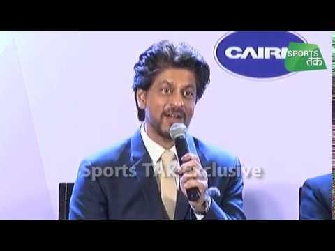 Shah Rukh Khan's Love With Indian Sports   Sports Tak thumbnail