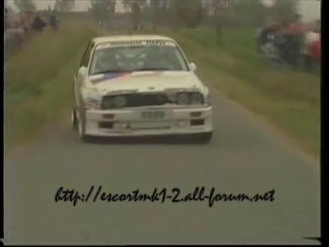 Patrick Snijers, Marc Duez, John Bosch - BMW M3 E30 - 24h d'Ypres 1988