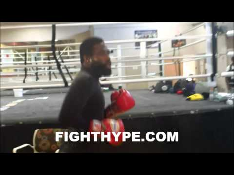 ADRIEN BRONER PREDICTS THE PUNCH THAT WILL MAKE IT AN EARLY NIGHT AGAINST EMMANUEL TAYLOR