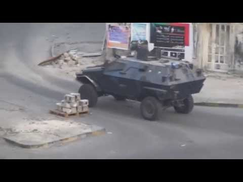 Bahrain - Clashes after the suppression of protests in the region Nuwaidrat 23.08.2015