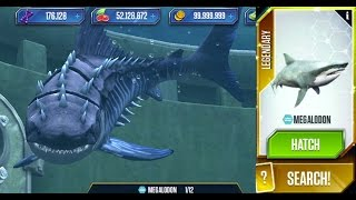 Megalodon Maxed - Jurassic World The Game - Aquatic Park Update