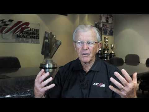 Joe Gibbs on Carl Edwards and Daniel Suarez