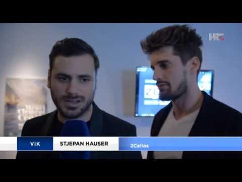 2CELLOS - press conference, HRT news