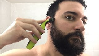 Beard Trimming - Philips Norelco OneBlade Trimmer and Shaver - Model QP2520
