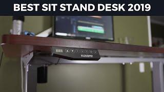 Best Sit Stand Desk 2019: Flexispot Height Adjustable Desk