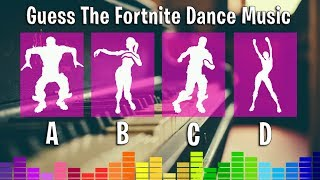 Guess The Fortnite Dance Music (Piano Version) Fortnite Challenge!