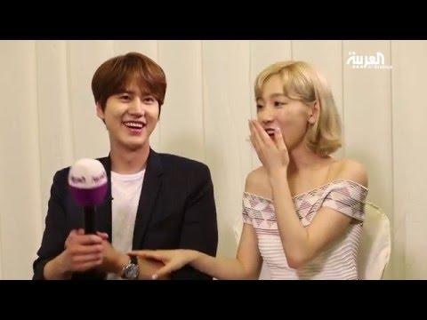اللقاء الكيبوبي مع KyuHyun و TaeYeon على العربية