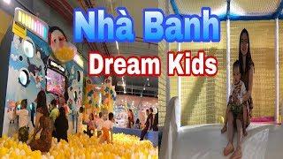 Nhà Banh Năng Động Khổng Lồ Tại Khu Vui Chơi Dream Kids   SauSoc TV
