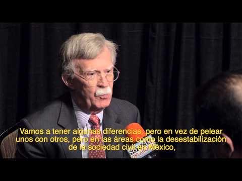 Embajador Bolton habla sobre relaciones con AL