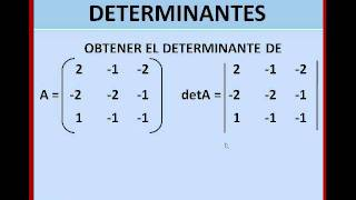 DETERMINANTES REGLA DE SARRUS.wmv