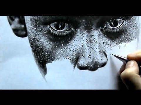 Рисунок простыми карандашами (гиперреализм) Drawing pencils