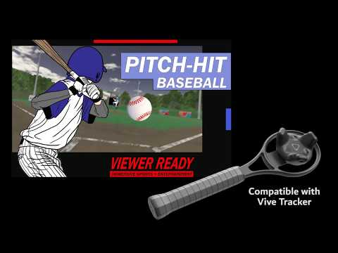 PITCH-HIT:BASEBALL (Now Vive Tracker compatible)