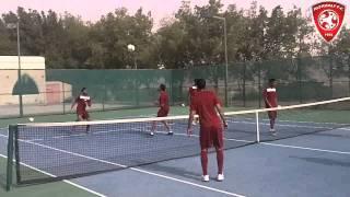 معسكر نادي الفيصلي السعودي بالأمارات 11-01-2015