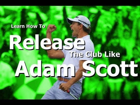Masters Champion: Adam Scott  Golf Swing Analysis (Out Drive Your Friends!!!)