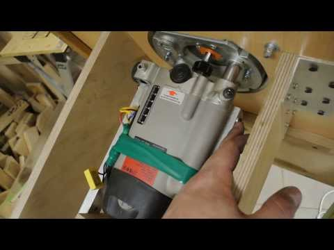 Как сделать из фрезера станок