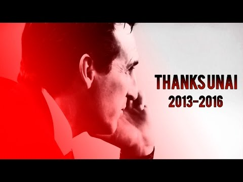 Thanks for everything Unai Emery - 2013-2016 @UnaiEmery_