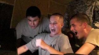 2 Kids 1 Sandbox - Army Reaction