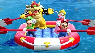 Super Mario Party - River Survival (4 Players)