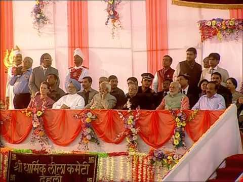 'Ravan Dahan' takes place at Delhi's Subhash Maidan