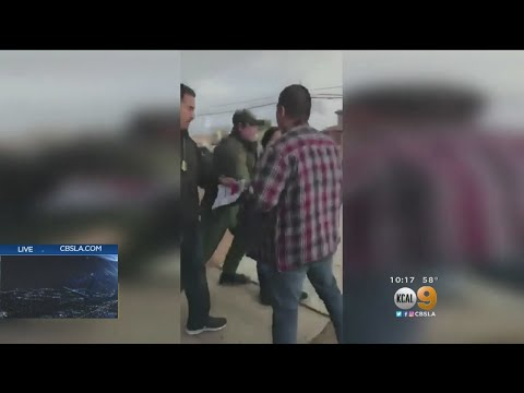 Woman Arrested By Border Patrol In Viral Video Reunited With Daughters