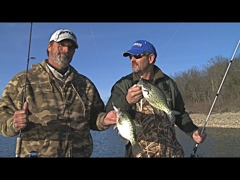 How to Target Winter Transition Crappie