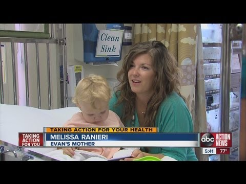 Tampa Bay mother to donate kidney to her two-year-old son