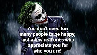 Happy Quotes About The Meaning oF True HappiNess || Joker's Quinn Quotes
