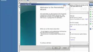 Windows Server 2008 R2 Deploying Applications with RemoteApp