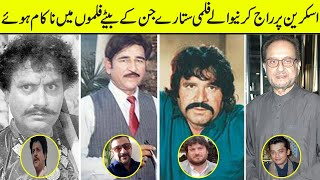 Flop Sons Of Hit Pakistani Heroes | Hit Father | Flop Son | Lollywood |