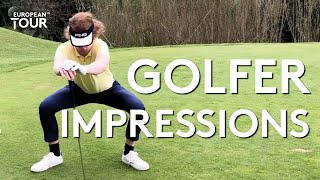 Amazing golf impressions | McIlroy, Fleetwood, Monty & more