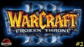 Warcraft III (No Commentary), Jurassic Park Survival #2!