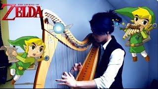 The Legend of Zelda Medley - Celtic harp