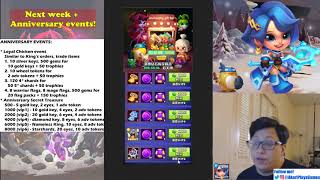 Taptap Heroes - Rundown for next week's events, 1 year anniversary events!