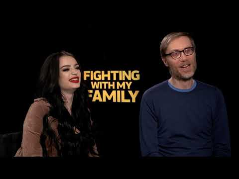 Paige & Stephen Merchant Interview - Fighting With My Family