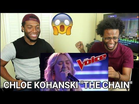 The Voice 2017 Blind Audition  Chloe Kohanski: The Chain REACTION