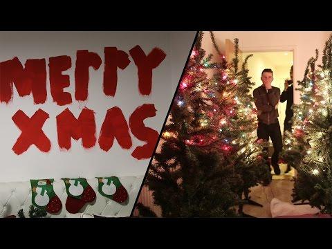 BRUTAL ROOMMATE CHRISTMAS PRANK!!