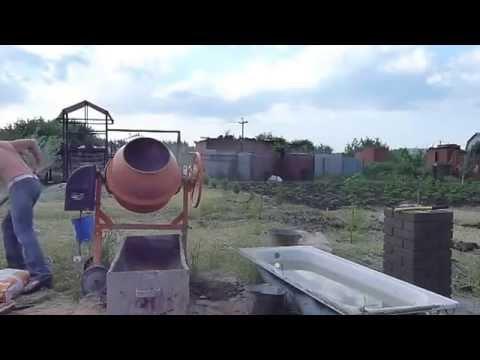 Как приготовить раствор для кладки - видео