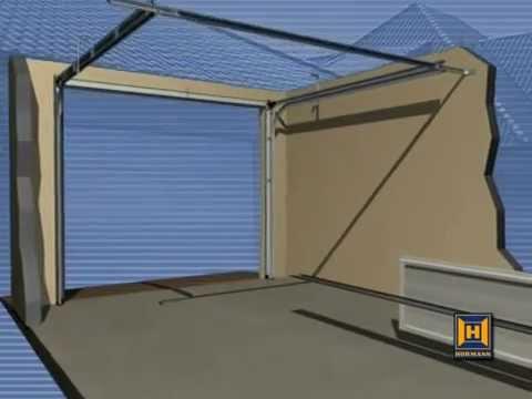 Hormann sectional garage door installation guide youtube