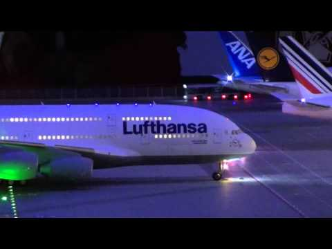 ✈ Miniatur Wunderland Hamburg Flughafen in Full HD 1080p Teil 1/3  Miniature Wonderland Airport